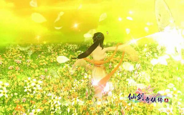 图2:《仙剑5》宣传视频截图